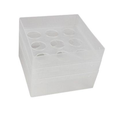 Pudełko na probówki 50 ml przezroczysty