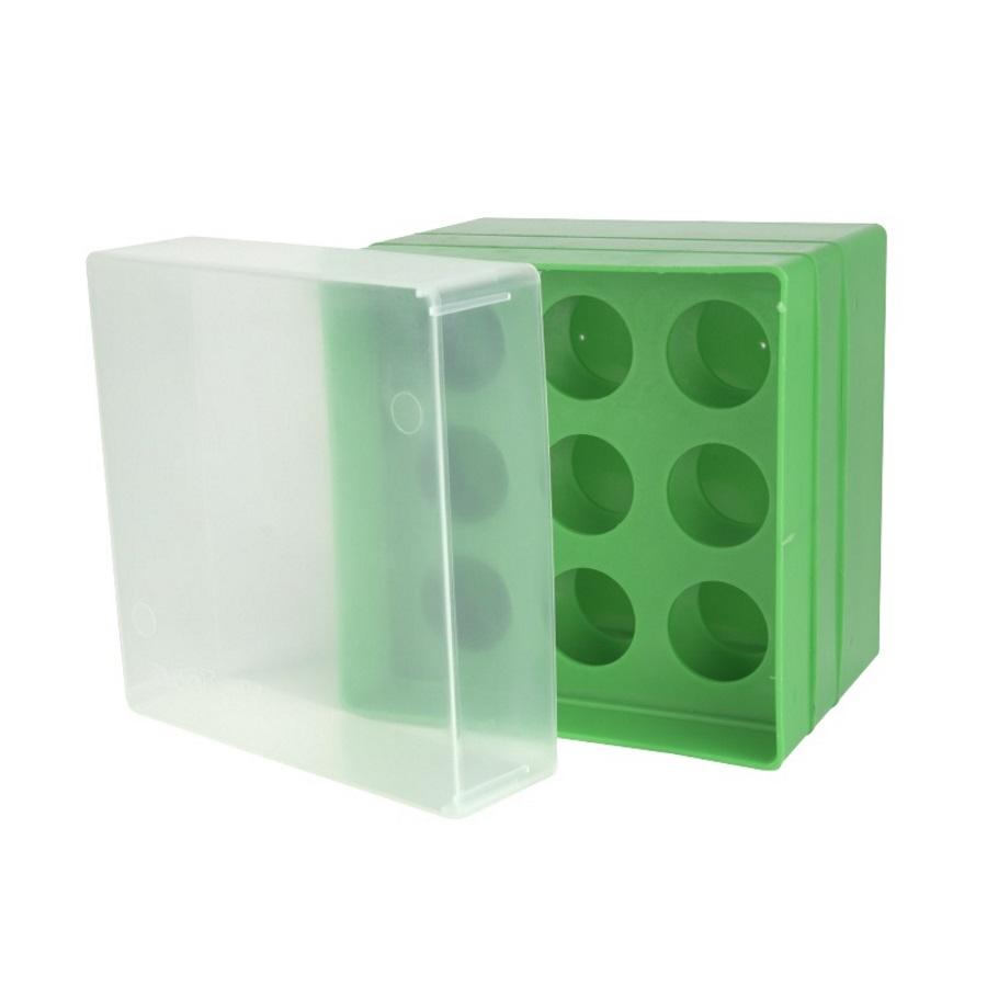 Pudełko na probówki 50 ml zielony