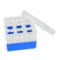 Pudełka na probówki Falcon - b-1620 - pudelko-na-probowki-falcon - 50-ml - niebieski - 3-x-3
