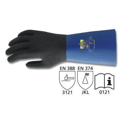 Rękawice chroniące przed chemikaliami, Rubiflex