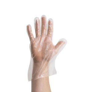 Rękawice jednorazowe polietylenowe