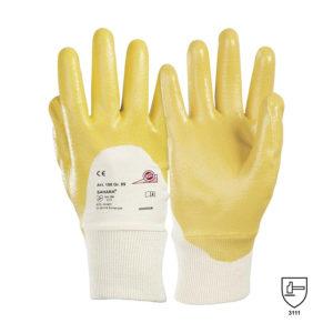 Rękawice ochronne z nitrylową powłoką