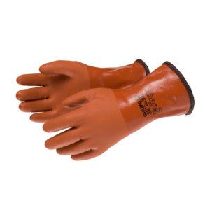 Rękawice z PVC chroniące przed niskimi temperaturami