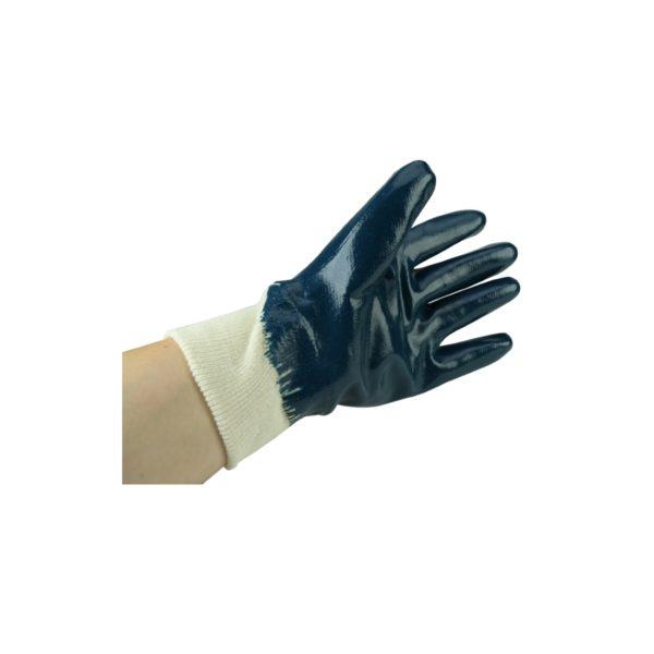 Rękawice z powłoką nitrylową chroniące przed skaleczeniem