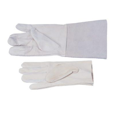 Skórzane rękawice ochronne