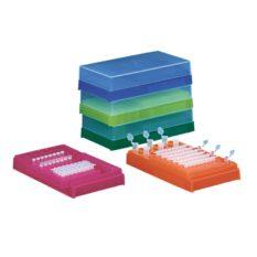 Statyw Combi-Rack z pokrywką, na probówki PCR oraz probówki reakcyjne 0,5 i 1,5 ml