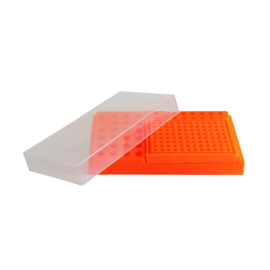 Statyw Combi-Rack z pokrywką pomarańczowy