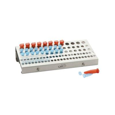 Statyw Kombi-Rack na probówki PCR (stal szlachetna)