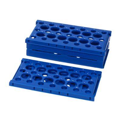 Statywy Pop-Up Rack na probówki niebieski