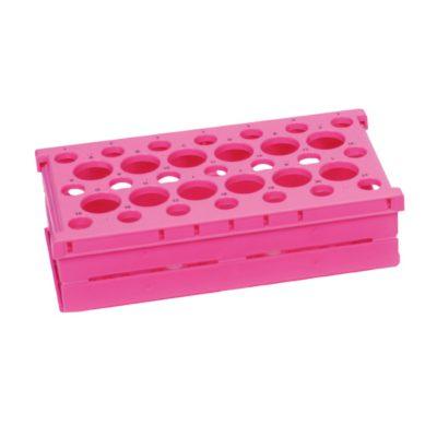 Statywy Pop-Up Rack na probówki różowy