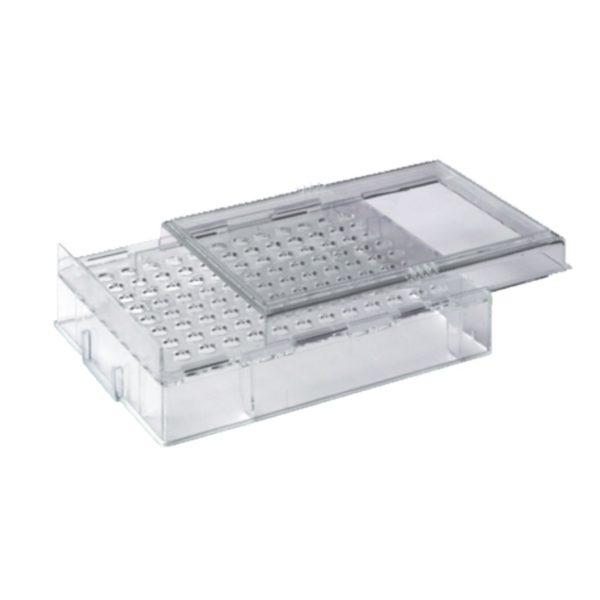 Statywy z pokrywą do płytek PCR przezroczysty PS