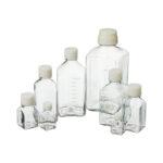 Sterylne butelki na pożywki - o poj. 30 ml - 2 l - b-4012 - sterylne-butelki-na-pozywki-z-petg-kwadratowe - 30-ml - 38-x-38-x-63-mm - 24-szt