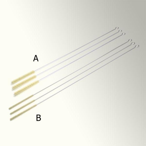 Szczotka laboratoryjna - włosie z naturalnej szczeciny