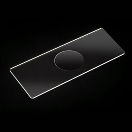Szkiełka mikroskopowe z łezką (wgłębieniem), szlifowane krawędzie