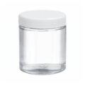 Szklane pojemniki z zakrętką - o poj. 125 ml - 500 ml - 9-0061 - szklane-pojemniki-z-zakretka - 68-x-60-mm - 125-ml - 24-szt