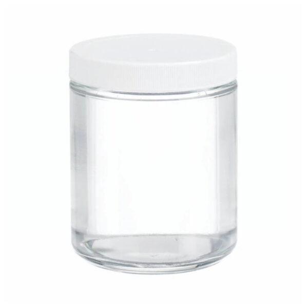 Szklane pojemniki z zakrętką - o poj. 125 ml - 500 ml