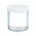 Szklane pojemniki z zakrętką - o poj. 125 ml - 500 ml - 9-0064 - szklane-pojemniki-z-zakretka - 95-x-91-mm - 500-ml - 12-szt