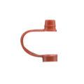 Nakrętki LDPE do kroplomierza, na wąską szyjkę - b-6521 - zatyczka-do-nakretek-ldpe-do-kroplomierzy-czerwona - 2555 - 10-2000-ml - 1-szt