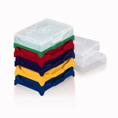Zestaw statywów na probówki PCR