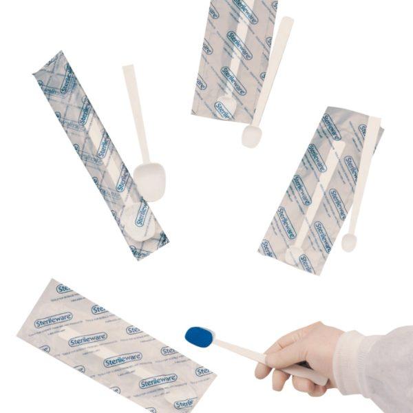 Łyżeczki do próbek, sterylne