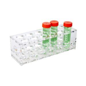 Akrylowe statywy na probówki stożkowe o poj. 50 ml