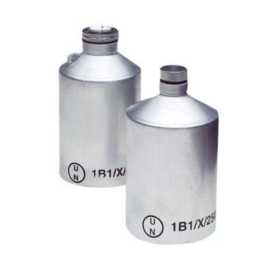Aluminiowe butelki z dopuszczeniem UN – o poj. 125 ml – 1 l