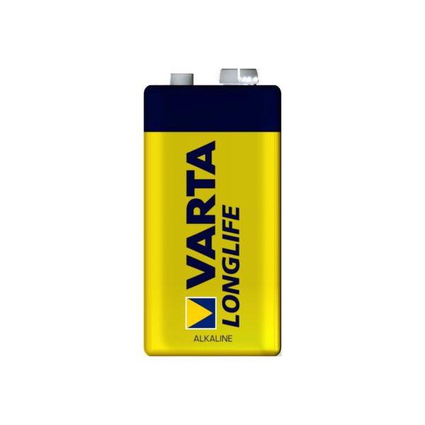 Bateria alkaliczna LongLife - 9 V - Varta