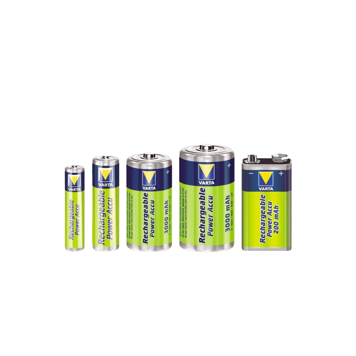 Baterie akumulatorowe Ni-MH - Varta