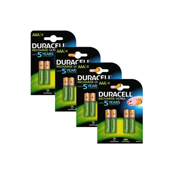 Baterie akumulatorowe NiMH Duracell AAA Micro