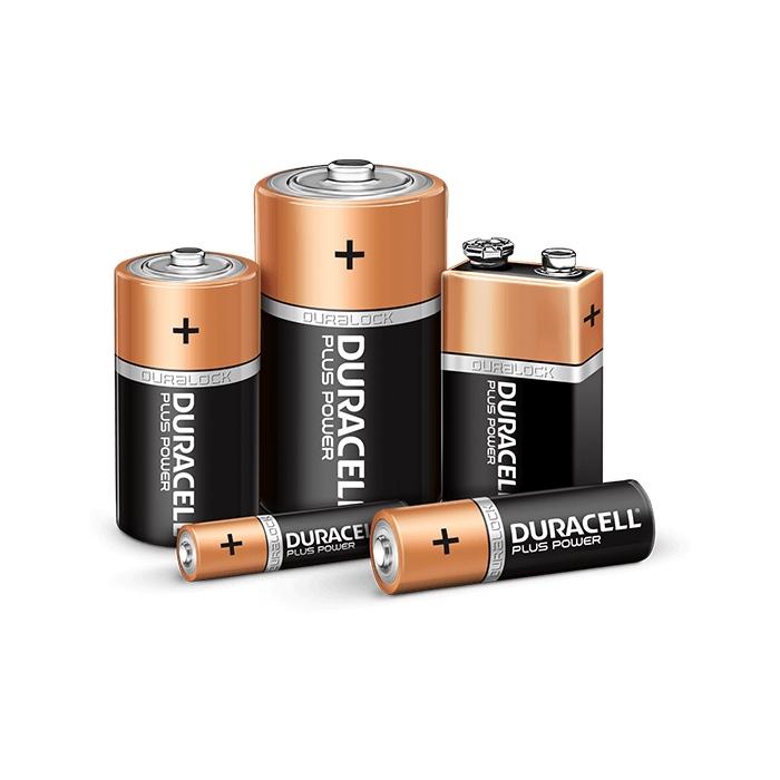 Baterie alkaliczne Duracell
