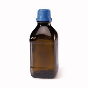 Butelki z zakrętką z pierścieniem plombującym - oranżowe - Rixius