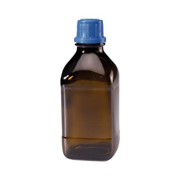 Butelki z zakrętką z pierścieniem plombującym - oranżowe - o poj. 250 ml - 2,5 l