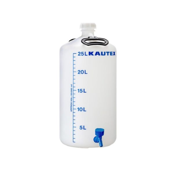 Butla z kranem - śr. 275 mm 25 l