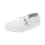 Buty laboratoryjne z podeszwą antypoślizgową - 4-1370 - buty-laboratoryjne-z-podeszwa-antyposlizgowa - 36 - bialy