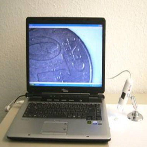 Cyfrowy mikroskop stereo, powiększenie 10 – 200x
