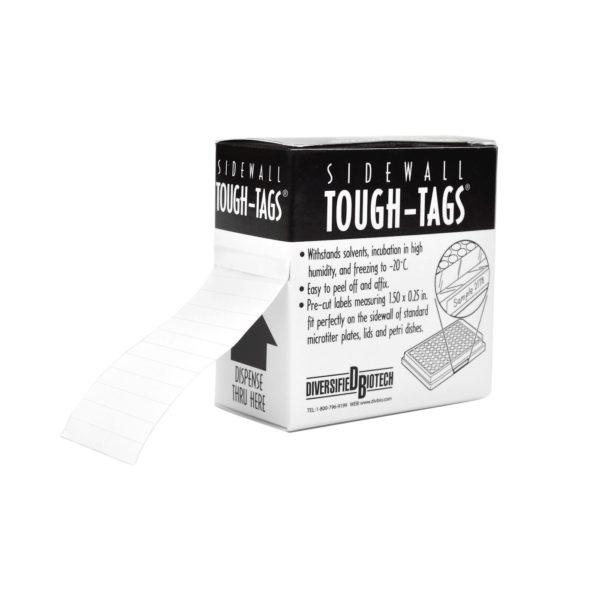 Etykiety na płytki mikrotitracyjne - białe - 1