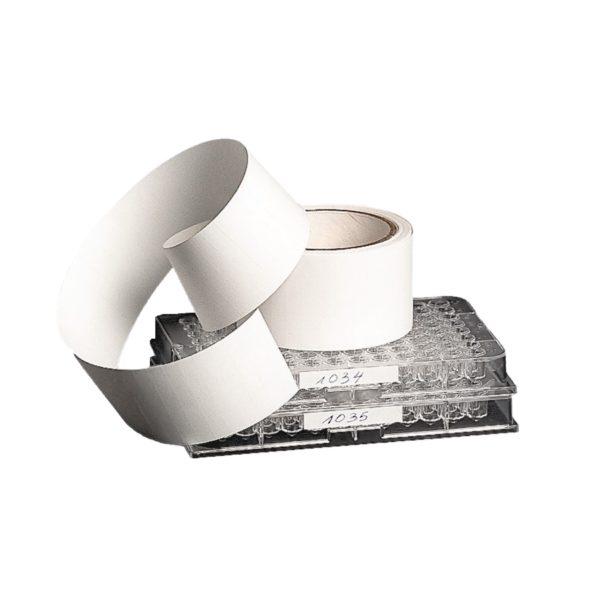 Etykiety na płytki mikrotitracyjne - białe - 2