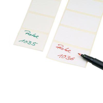 Etykiety odporne na temperatury do -70ºC