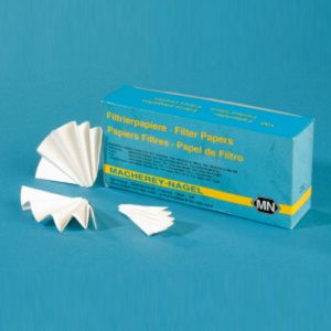 Filtracyjne sączki z bibuły - karbowane