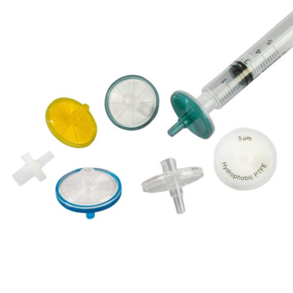 Filtry do strzykawek niesterylne - PTFE lub CME - śr. membrany 25 mm
