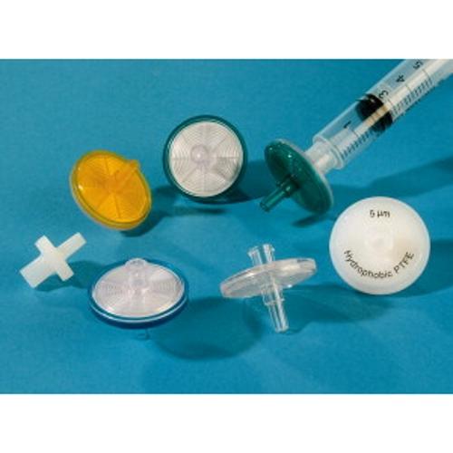 Filtry do strzykawek niesterylne, PTFE lub CME, śr. membrany 25 mm