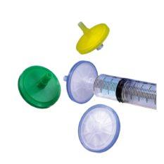 Filtry strzykawkowe do HPLC, kodowane barwnie, śr. membrany 25 mm