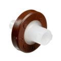 Jednorazowe filtry do strzykawek dla HPLC - celuloza regenerowana - śr. membrany 13 mm - b-1880 - jednorazowe-filtry-do-strzykawek-dla-hplc-sr-saczka-13-mm - 020-%c2%b5m - ciemny-braz - 25-szt