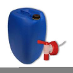 Kanister 60 litrowy wykonany z HDPE, z zakrętką