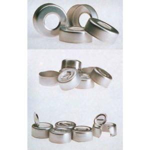 Kapsle aluminiowe na fiolki, bez septy