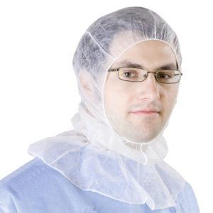 Kaptur do użytku w pomieszczeniach sterylnych