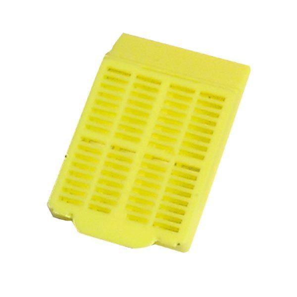 Kasetki do rutynowego zatapiania żółty