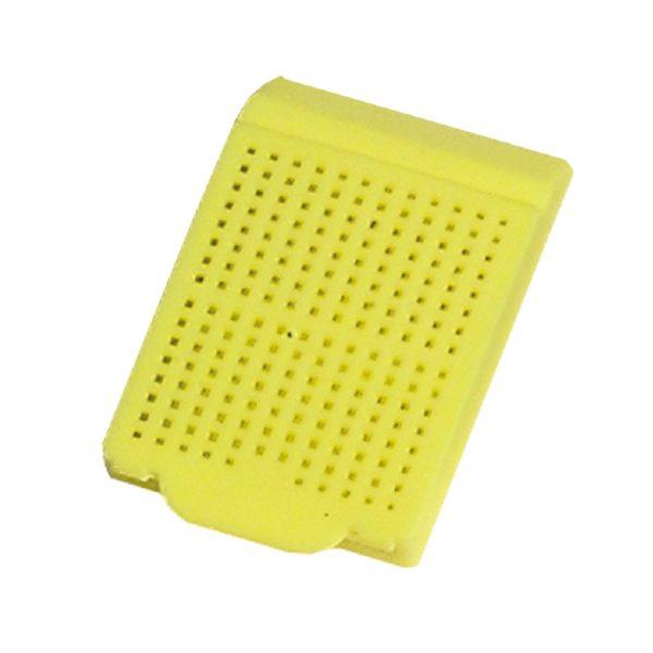 Kasetki do zatapiania żółty