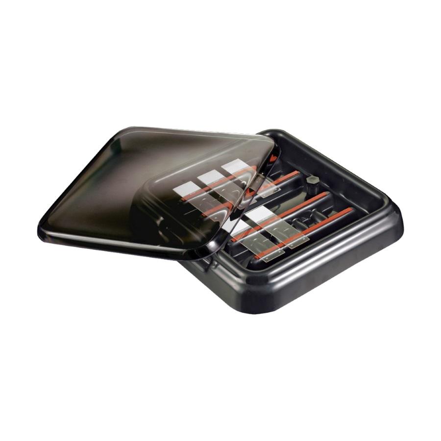 Komora StainTray™ z ABS do barwienia pokrywka z ABS na 10 szkiełek podst