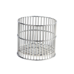 Kosze laboratoryjne ze stali nierdzewnej - okrągłe - b-0197 - kosz-laboratoryjny-ze-stali-nierdzewnej-okragly - 90-x-90-mm
